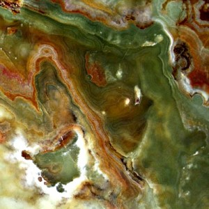 Multicolor Green Onyx