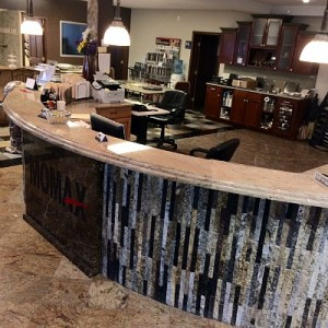 Showroom Reception Desk